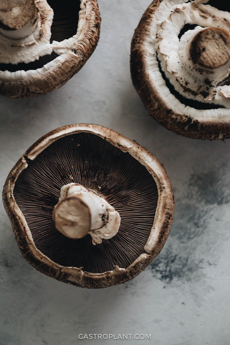 Roasted Portobello Mushrooms Oil Free Gastroplant