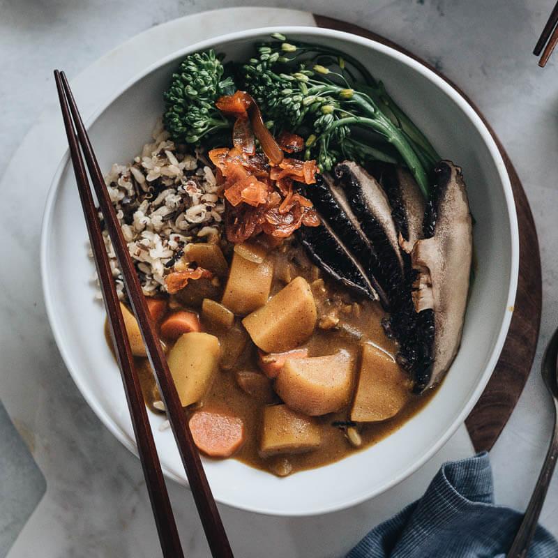 Vegan Japanese Curry Gastroplant