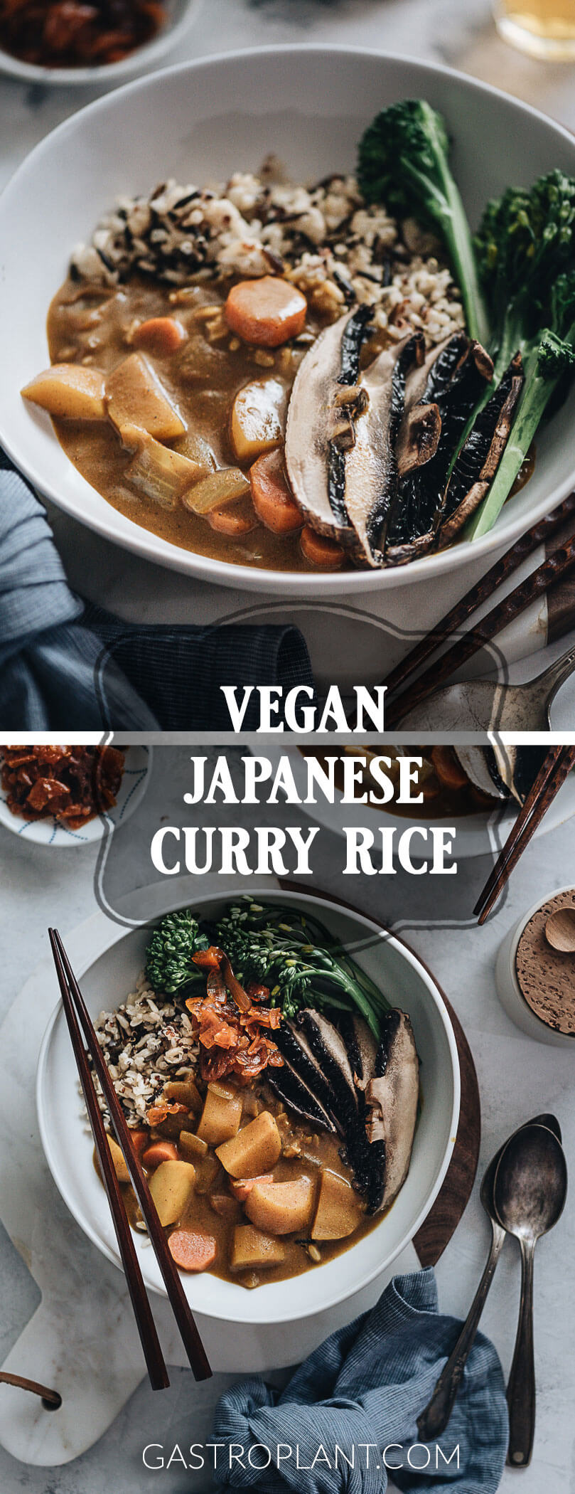 Vegan Japanese Curry Gastroplant