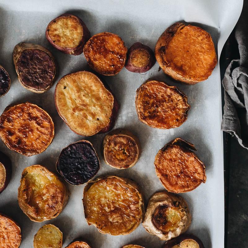 Crispy Roasted Sweet Potatoes Gastroplant