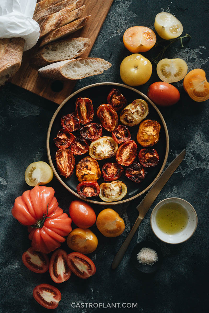 Easy air fryer tomatoes