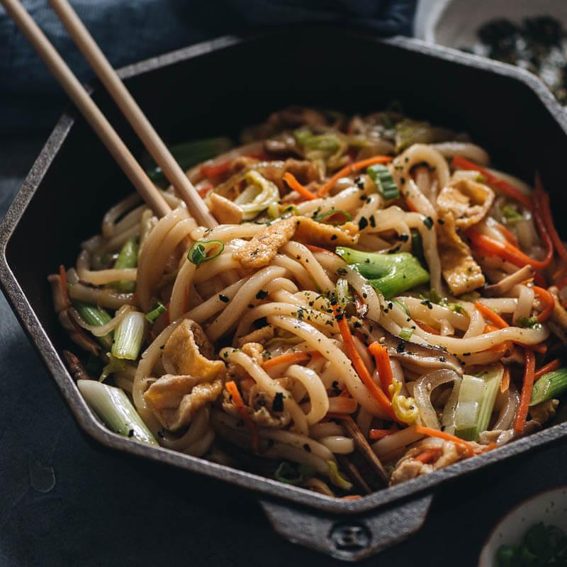 Vegan Yaki Udon Gastroplant