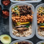 Tasty Healthy Vegan Chipotle Buddha Bowl Meal Prep