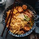 Vegan Miso Ramen Noodle Soup Square
