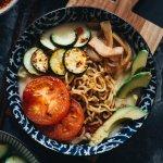 Easy Vegan Soy Milk Ramen Noodle Soup