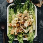 Healthy Vegan Caesar Salad Square