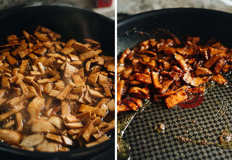 Smoky Vegan King Oyster Mushroom Bacon