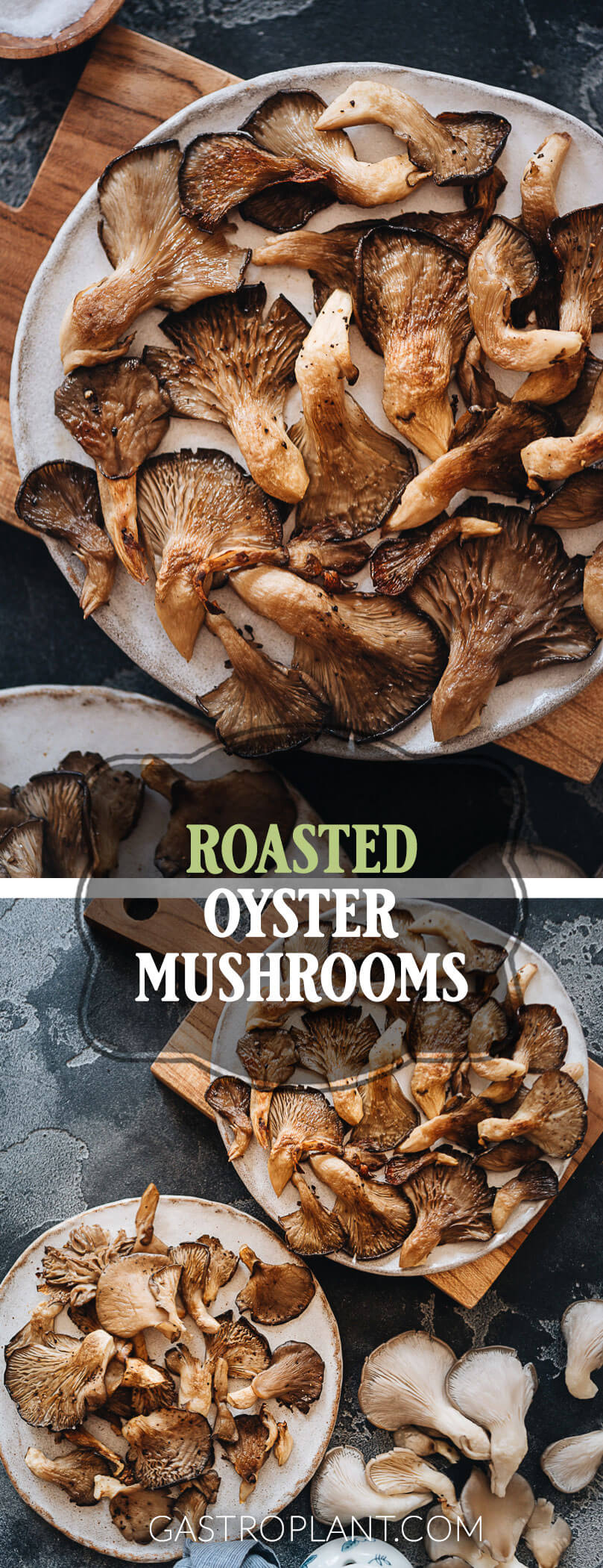 Easy roasted oyster mushroom recipe