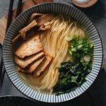 Vegan shio ramen square image