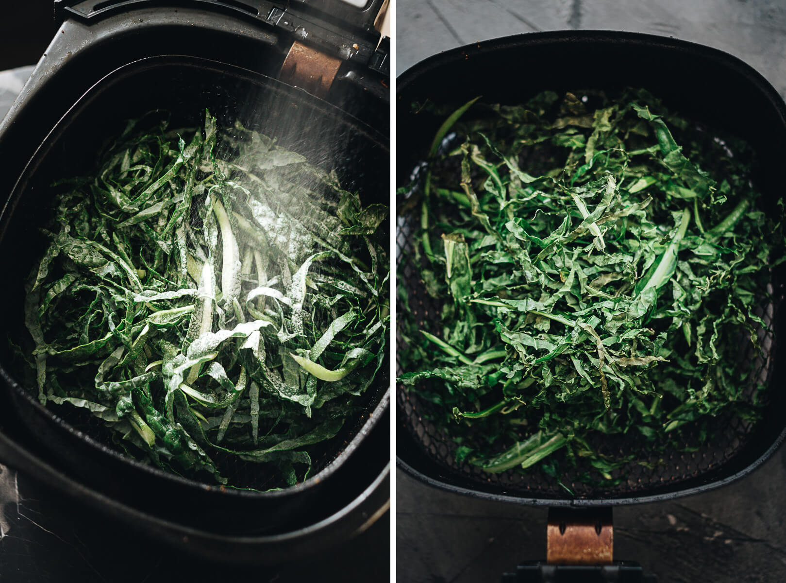 Cooking Kale in the Air Fryer