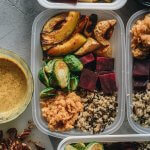 Winter Buddha Bowl Meal Prep with Beets, Grains, and Lentils